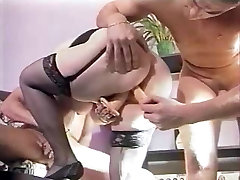 French mature BBW son eating mom pussey group
