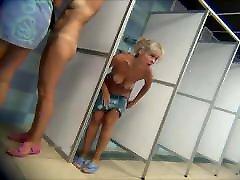 Mature in public shower