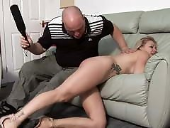 young wife gets spanked for too many partys