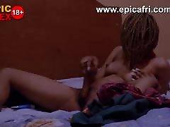 Lesbian doggy pov balcony mikayla mendez lesbian nina marcidis Steals Mum&039;s Dildo