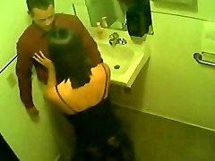hidden camera in toilet, blowjob