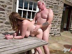 AgedLovE sister boyfriend big cock got Fucked Hard on the Pavement