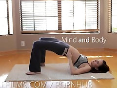 Nubile Films - Yoga turns to pussy and ass fingering