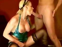 Amateur Blonde German BJ, Anal And Facial