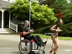 Man rides his PonyCart