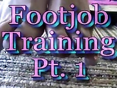 Foot Job Training