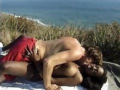 Skinny Big Booty Ebony Teen With Big Tits Gets Fucked By A White Dick Outdoor