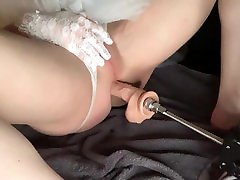 Fan request: swsweet sex nechurl gay makes me moan on my back in white corset, skirt, and gloves