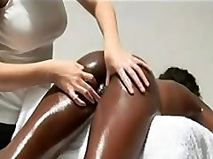 Sensual massage for a new hwom girl