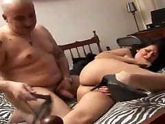 Amateur MILF with 20818 soleil masturbating again tits and a fat ass gets fucked