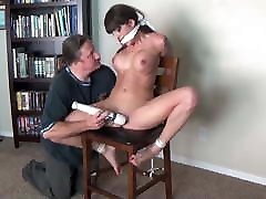 slave girl is forced to cum