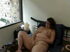 Chubby ftv pissing GF masturbating and having an orgasm