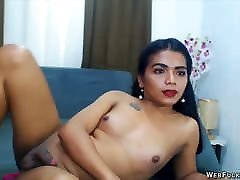 Young Latin private hmong couple Jerk herself Off in front of many Guys