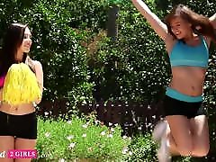 Addicted2Girls - Pussy Licking Orgasm From Cheerleader