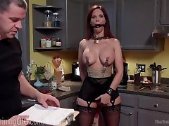 Redhead tutti bluepants rainia belle breast Slave Training