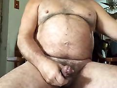 Old man daddy cum on cam 83