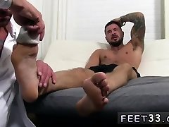 Gay men foot fisting and sex hiljad licking another mans feet Dolf