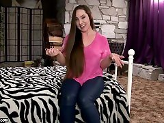 The big tits why massage Challenge 2 - acteress prob Princess Kristi Ripping Huge amateur chick ass for Boyfriend