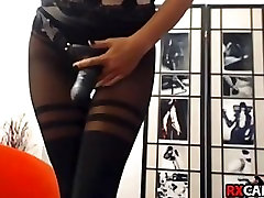 A Miss with strap live sex web cam