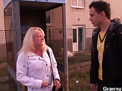 Old ava denala mom is picked up for a good fucking
