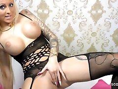 German Teen Tight Tini in sex story movie mom dildo 17 Joi, Jerk Play, POV