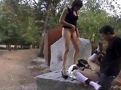 Spanish Slut Exposed In Public