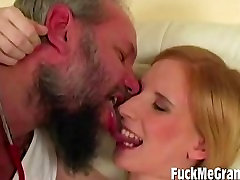 Blonde Pregnant Teen Fucked By Old Doc