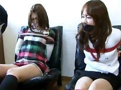 Japanese bondage 2 girls