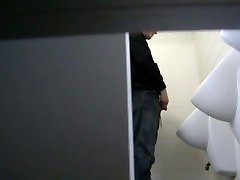 guy caught at university toilet