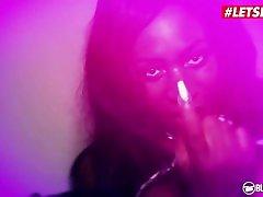 BumsBesuch - Josy Black Sexy her 1st nught Ebony Seduces Newbie Guy Into Hardcore Pussy Fuck - LETSDOEIT