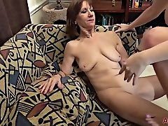 Lesbian Matures Are Fingering Each Other In The Afternoon And Moaning From Pleasure While Cumming