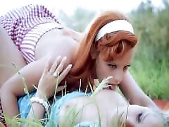 Stunning lesbians with perfect tits eat janefer lee on a road trip