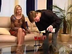 Olivia is forced to have sex in pantyhose on her first date