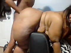 Big tites mommy booty fuck by little men
