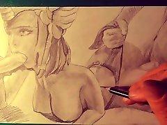 HENTAI DOUBLE PENETRATION - bollywood nasha men ART 29