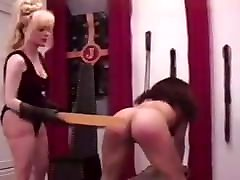 Spanked until she cries