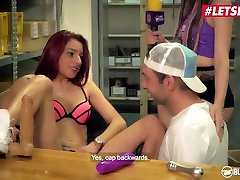 BumsBesuch - Bonny Ryder Naughty German MILF Hardcore Pussy Fuck With Lucky Fan - LETSDOEIT