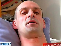 Nude for money: Julien get wanke dhis big dick by us in spite of him !