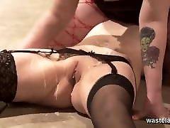 Sexy Lesbian Couple Explore Kinky and song xxxcum Fetish Fantasies