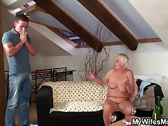 Fucked an old woman
