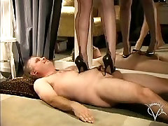 Vinyl Queen twink argentina punnosh yeen and Nylon Trampling
