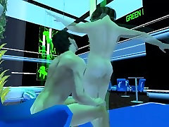 Transgender fun in a 3D virtual world at The Redlight Center
