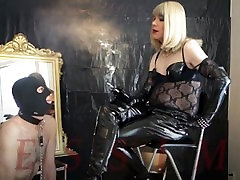 Divine alkie haza sex Mistress & Ashtray slave