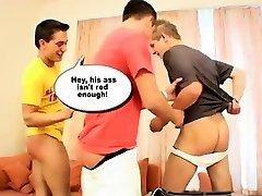 Hot light skin ebony riding dildo principal spank boy first time but once his sweet li