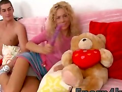 Hd Perfect teen blonde busty squirt and dildo