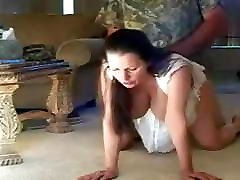 Mature wife, doggystyle anal