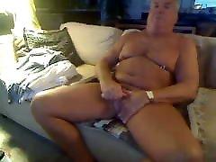 Old man daddy cum on cam 128