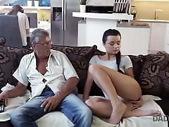 DADDY4K. Taboo sex of bat coc japonaise guy and sweet brunette ends
