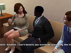 Sims 4: Big Tit Milf Fucks to Pay Off Sons Debt, Makes Him Watch