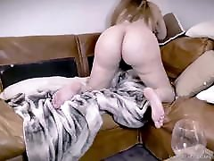 FREE - PERFECT BOOBS BRUNETTE ANAL oil massage sexy CUM SWALLOWING 2of4